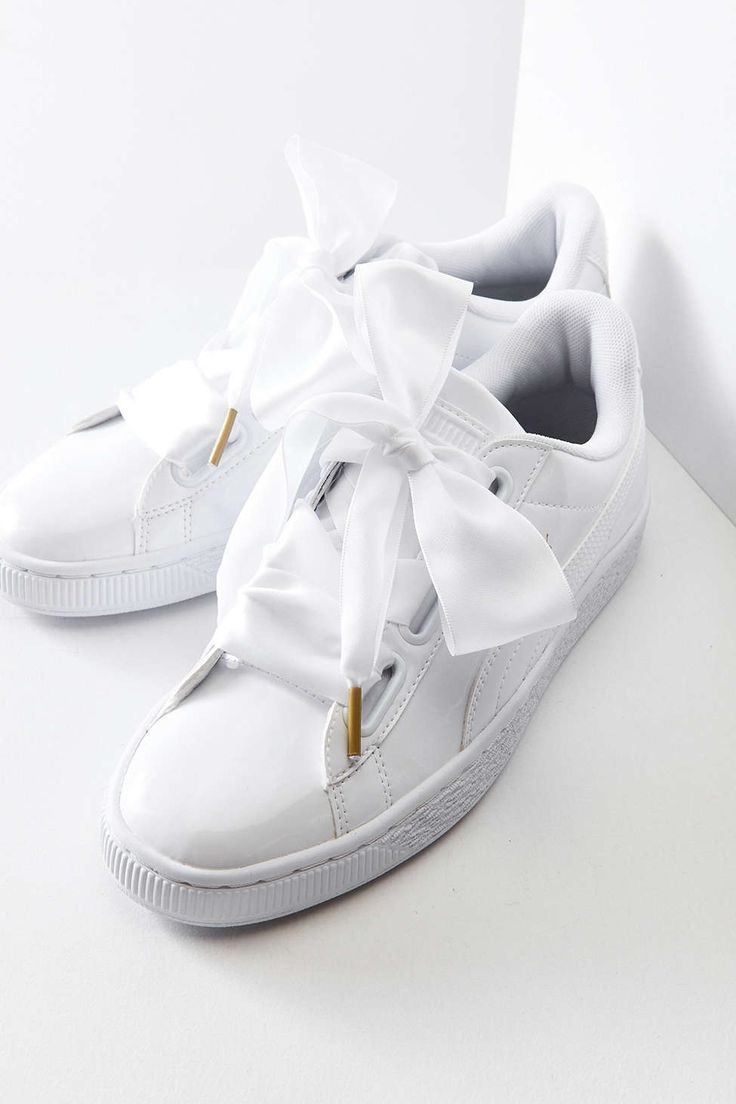 Puma Basket Heart Patent Leather Sneaker