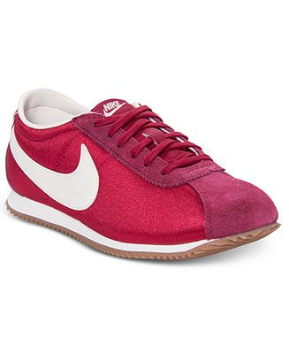 Nike Women's Shoes, Cortez Lite TXT Casual Sneakers - Kids Finish Line Athletic Shoes - Macy's