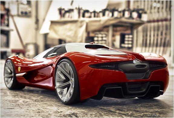 Ferrari XEZRI Concept                                                                                                                                                                                 Plus