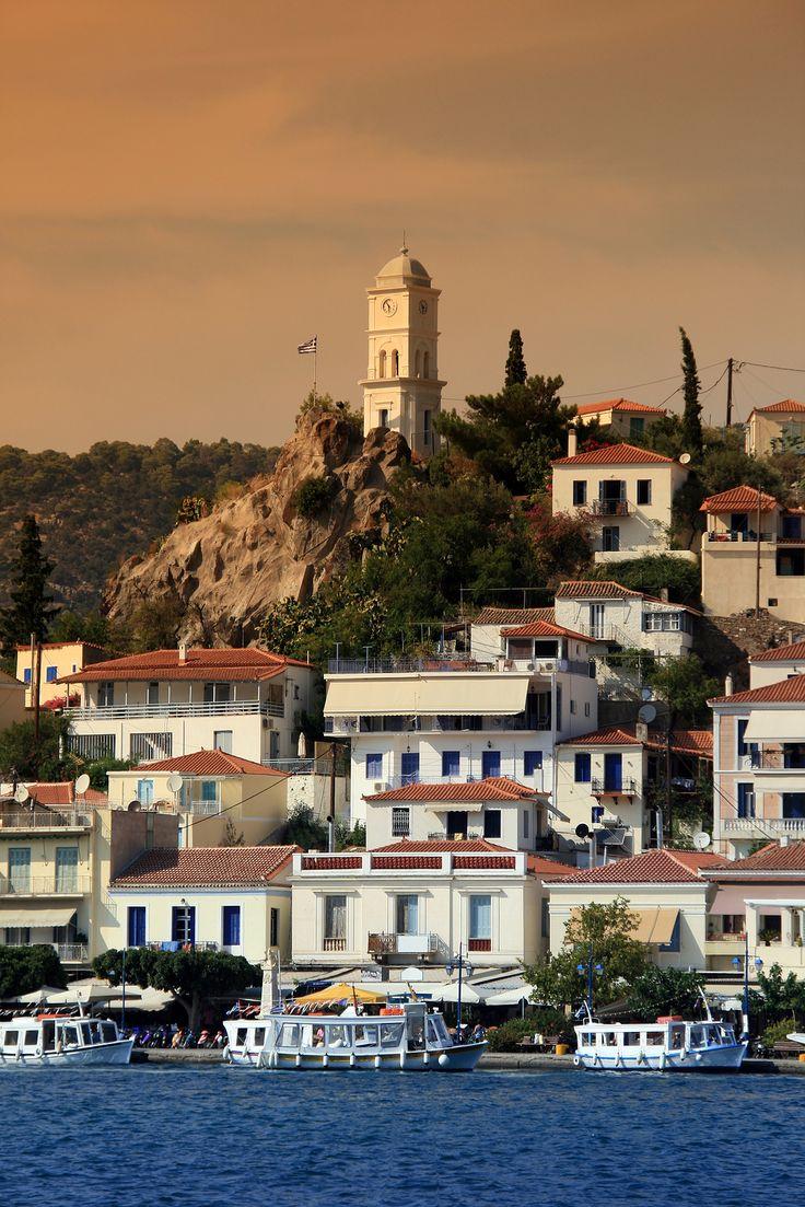 The island of Poros - Greece.  ASPEN CREEK TRAVEL - karen@aspencreektravel.com