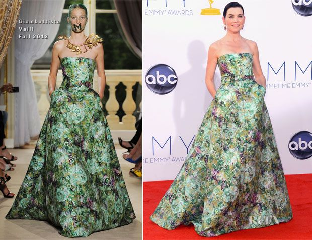 Julianna Margulies In Giambattista Valli Couture – 2012 Emmy Awards