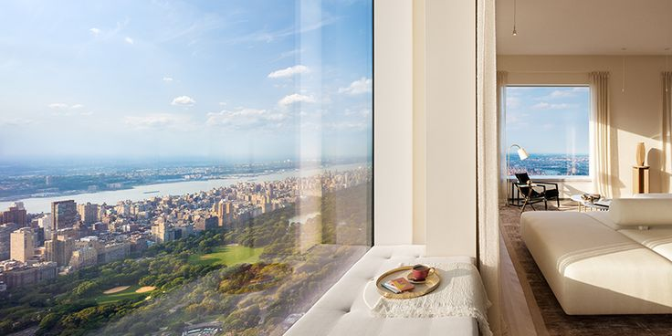 look inside the completed penthouse residence within the tallest residential building in the western hemisphere.