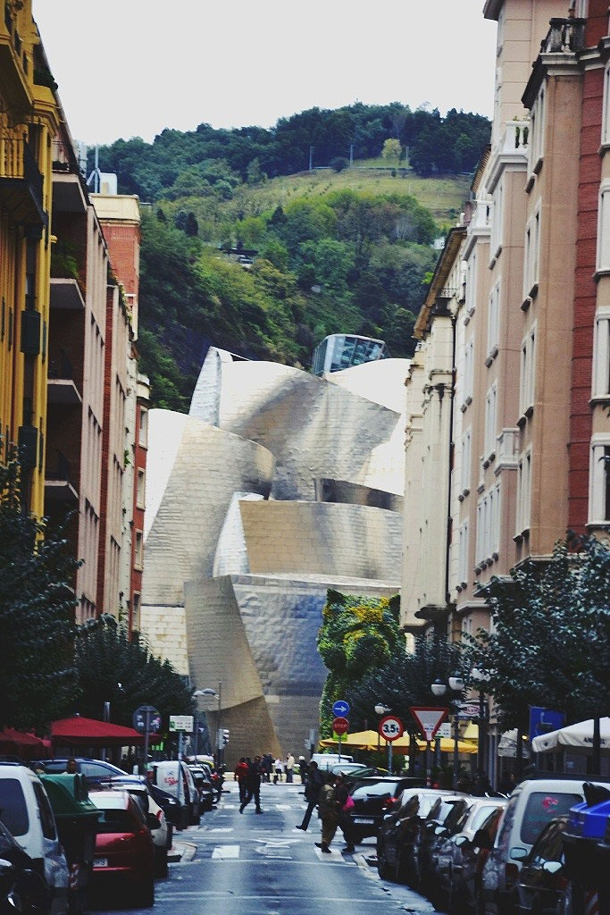 Basque Country, Bizkaia, Bilbao, Guggenheim Museum