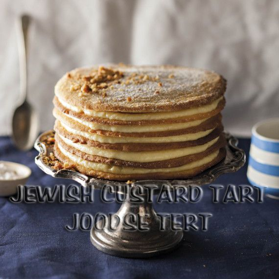 South African Recipes | JEWISH CUSTARD TART (JOODSE TERT) (Wenresepte 3, pg 149)