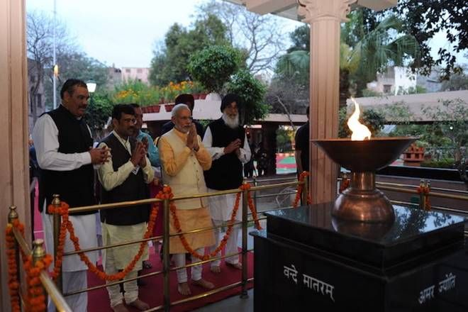 Prime Minister Narendra Modi and Union Home Minister Rajnath Singh on Thursday recalled the martyrs of Jallianwala Bagh massacre in Punjab, saying that...