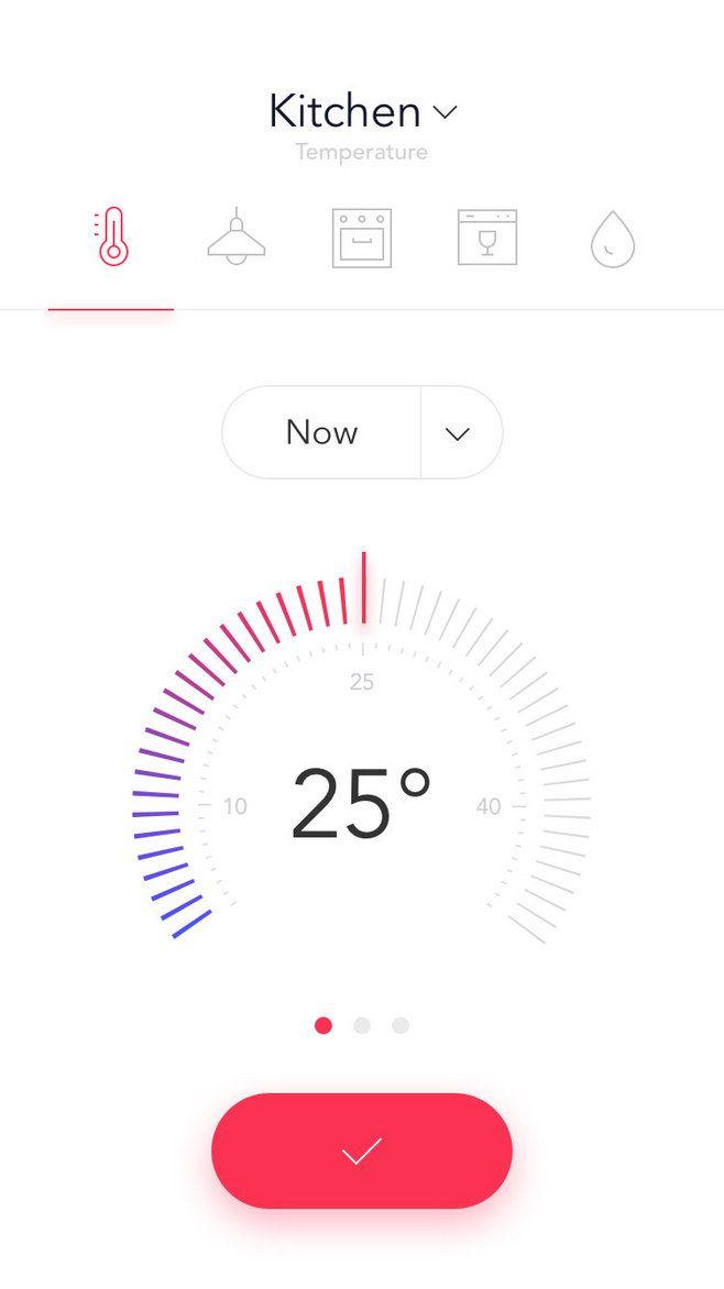 智能家居应用手机界面设计