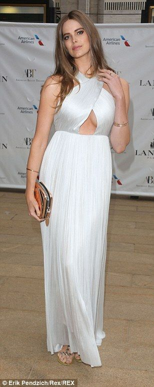 Model Robyn Lawley at the American Ballet Theatre Spring Gala in New York last May