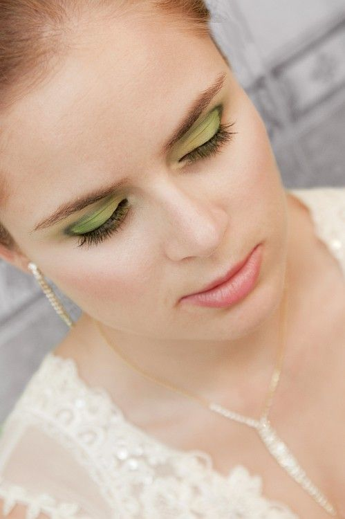 Slubny w zieleniach / Wedding greens – Makeup Geek