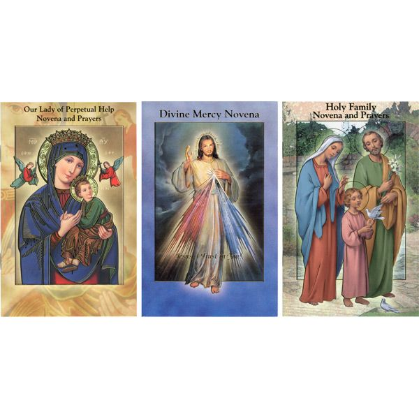 We have novena prayer booklets for a wide variety of patron saints! Including St. Peregrine, patron of those with cancer.