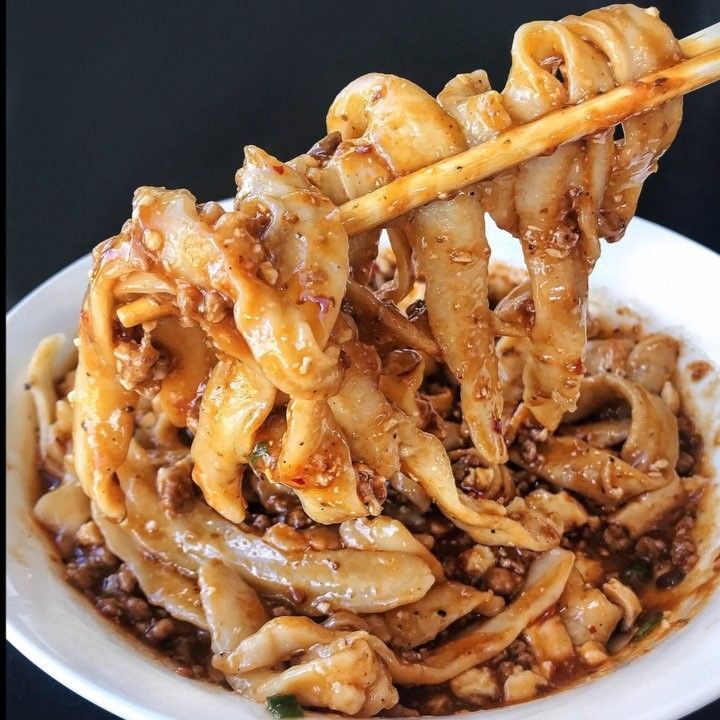 Mapo tofu noodle austin food tofu asian recipes