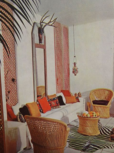 house gardens complete guide to interior design - 70s Home Design