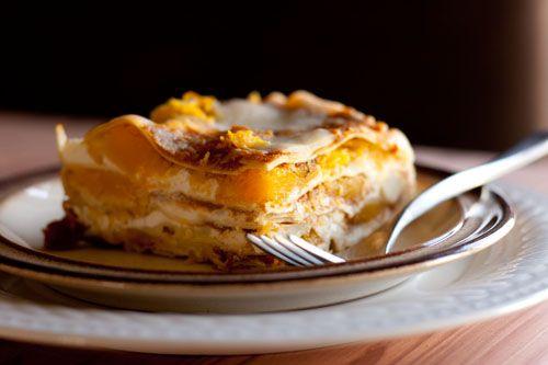 Pumpkin Lasagna with Roasted Butternut Squash
