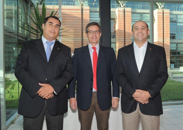 Sergio Quezada, Juan Carlos Spichiger, Fabrizio Andrades.