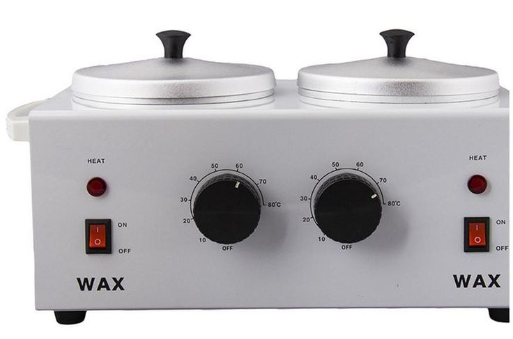 Double pot hot wax machine Double temperature kerotherapy pan beauty kerotherapy machine kerotherapy kerotherapy care instrument