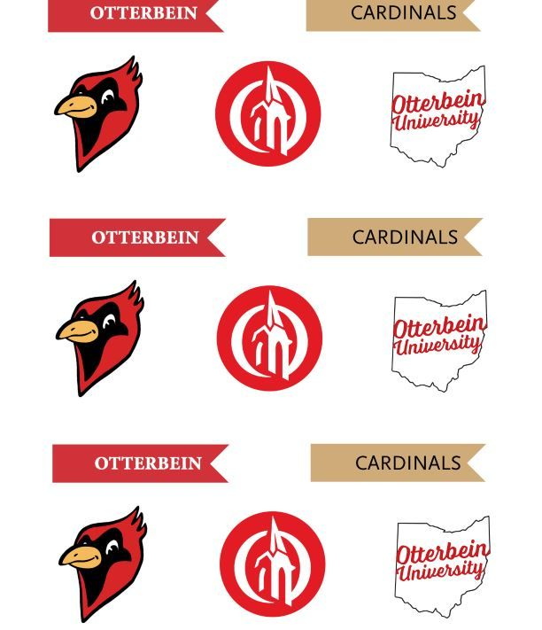 Otterbein Cupcake Toppers Grad Parties Otterbein Crafts