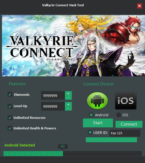 Valkyrie Connect hack,cheats tips and traps Valkyrie Connect Unlimited Money Diamonds and Mana Cheats .. Valkyrie Connect Apk v1.3.0 Mod (Unlimited Diamonds and Mana/… Valkyrie Connect Hack Cheats Unlimited – Games Cheats Valkyrie Connect Mod Apk (Endless Diamonds and Mana+) Valkyrie Connect Hack Diamonds and Mana Cheats [Online … Valkyrie Connect MOD APK 1.2.0 (Unlimited …