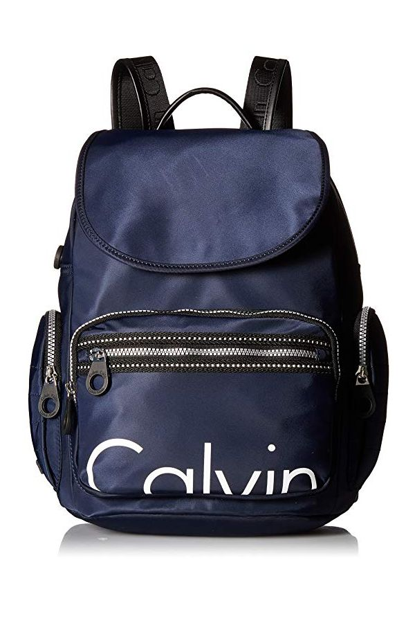 1bb74115b56 Calvin Klein Athleisure Nylon Backpack, Navy | Backpacks | Backpacks ...