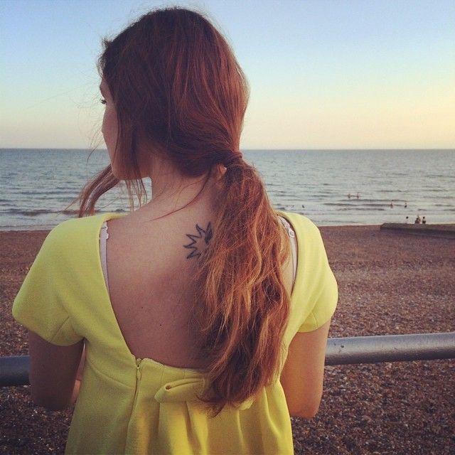 Ocean.   Marzia bisognin, Leaf tattoos, Instagram