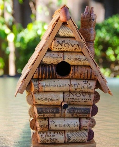 Birdhouses | GardenDrum would be great for lake house.