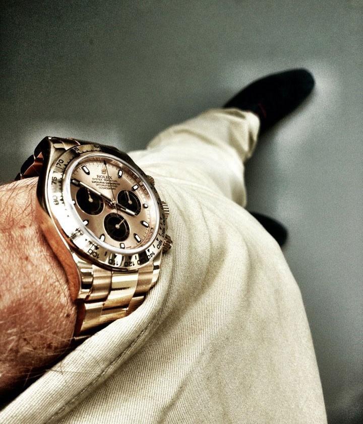 Rolex Daytona in Everose gold