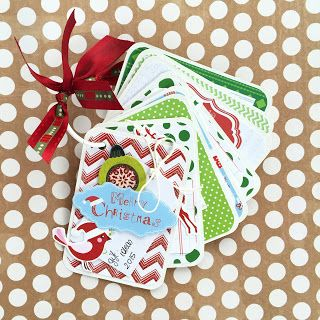 Scrapbooking & Cardmaking: Notesik na prezentowe pomysły. Little notebook for a christmas gift ideas.