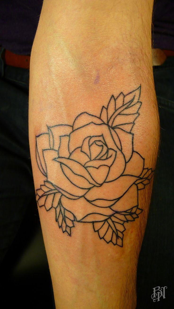 Tatouage rose bras femme - Tattoo rose bras ...