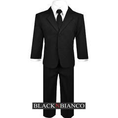 Baby Boys Toddlers and Infants Boys Suit in Black Complete Outfit - Sears