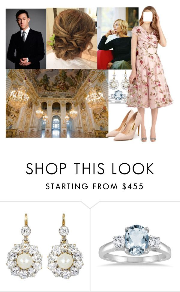 """""""Being Interviewed by Petra Gerster at Nymphenburg Palace (READ FOR INTERVIEW)"""" by louiseofgermany ❤ liked on Polyvore featuring Marquee Jewels, NYMPHENBURG, Reception and Rupert Sanderson"""