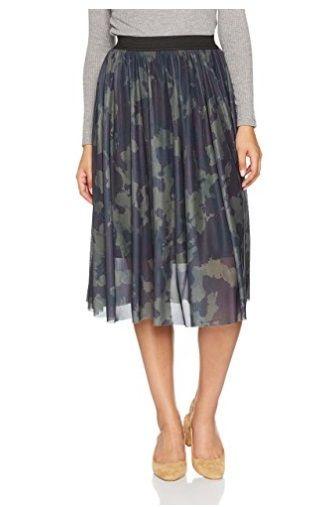 Falda plisada Only #Amazonmoda #Modamujer #Moda2017/2018 #Falda #Outfit #fashion #Shopping #Print  #Only