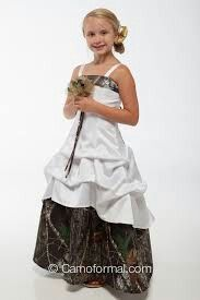 Really cute flower girl dress that my sister wants for her wedding! ......... thats going to be a while.