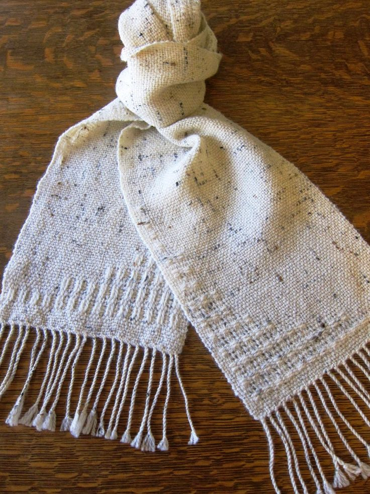 Deanna's Weaving - Bronson Lace on rigid heddle
