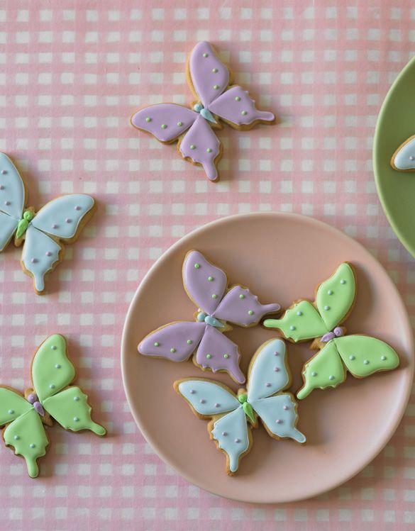 Butterfly cookies - fancy-edibles.com