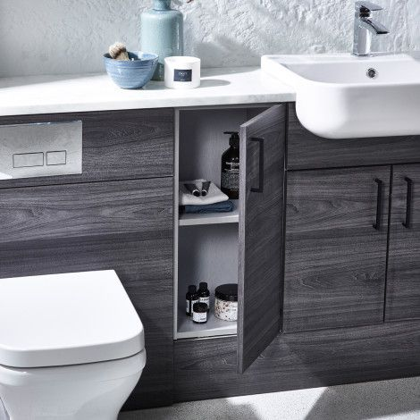 Picture Gallery For Website Aruba flintwood fitted bathroom furniture Roper Rhodes