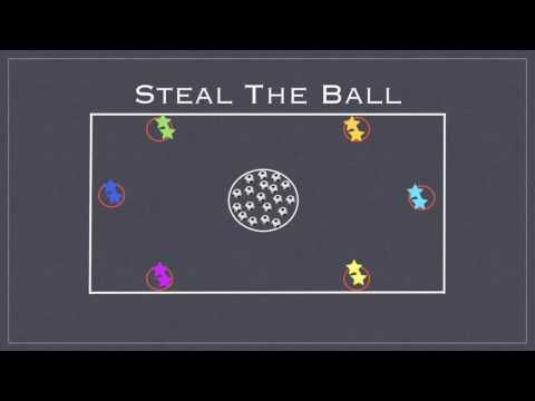 Physical Education Games - Steal The Ball - YouTube