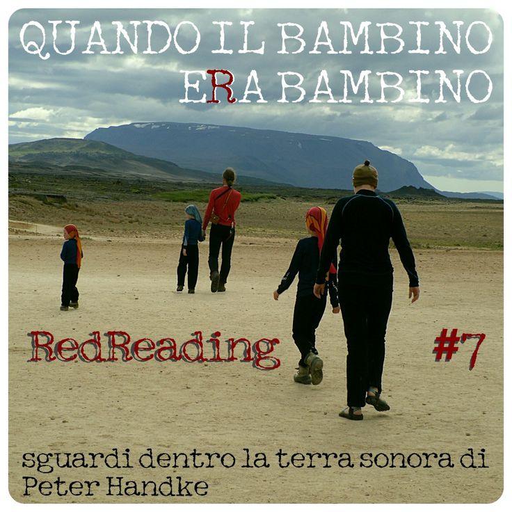 Quando il bambino era bambino - RedReading #7   DOMENICA 18 MAGGIO/ TEATRO BIBLIOTECA QUARTICCIOLO/ ORE 21,00