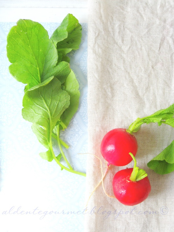 how to eat radishes greens
