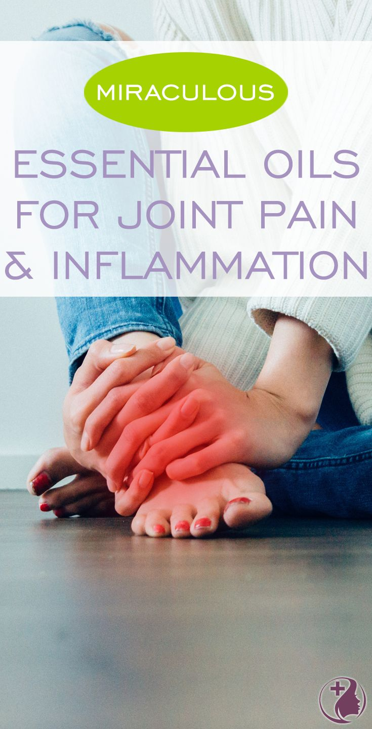 Try these natural remedies for joint pain and inflammation. I include my 3 favorite essential oil blends that you can try at home! :)