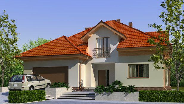 Komfortowy dom o nowoczesnej architekturze, idealny dla dużej bądź pokoleniowej rodziny. Zobacz rzuty projektu!