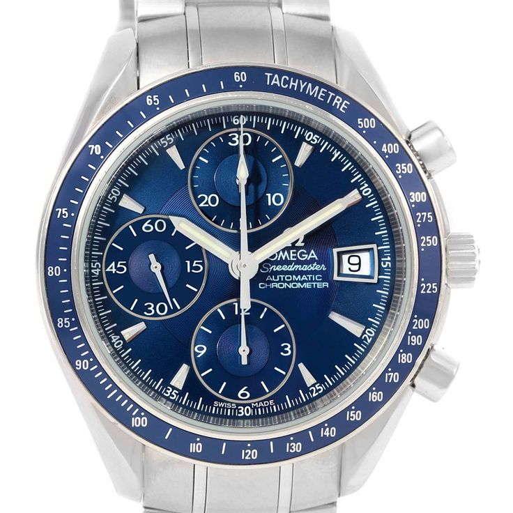 15208 Omega Speedmaster Day Date Chronograph Watch 3222.80.00 Box Papers SwissWatchExpo