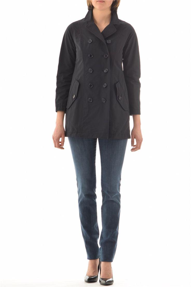 Abbigliamento Donna Aspesi - Impermeabile mod. NN548 in Cotone e Poliestere di Alberto Aspesi - al prezzo di 377 €