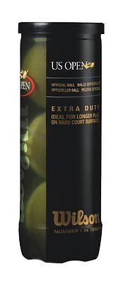 #Wilson us open #extra duty #tennis balls (can of 3 x 18) total 54 balls,  View more on the LINK: http://www.zeppy.io/product/gb/2/182397103923/