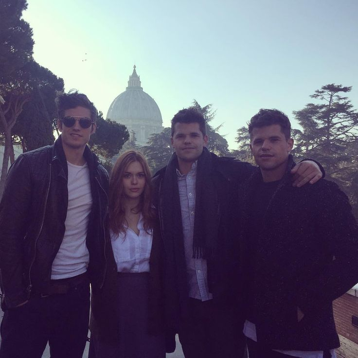 Teen Wolf ... Daniel Sharman, Holland Roden, Max Carver and Charlie Carver as Isaac, Lydia, Aiden and Ethan