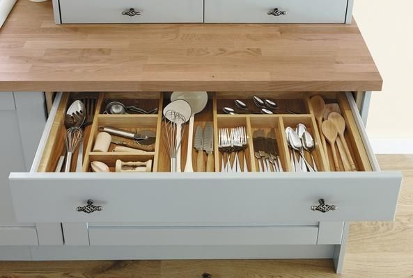 Timber Cutlery Tray - good handles                                                                                                                                                                                 More