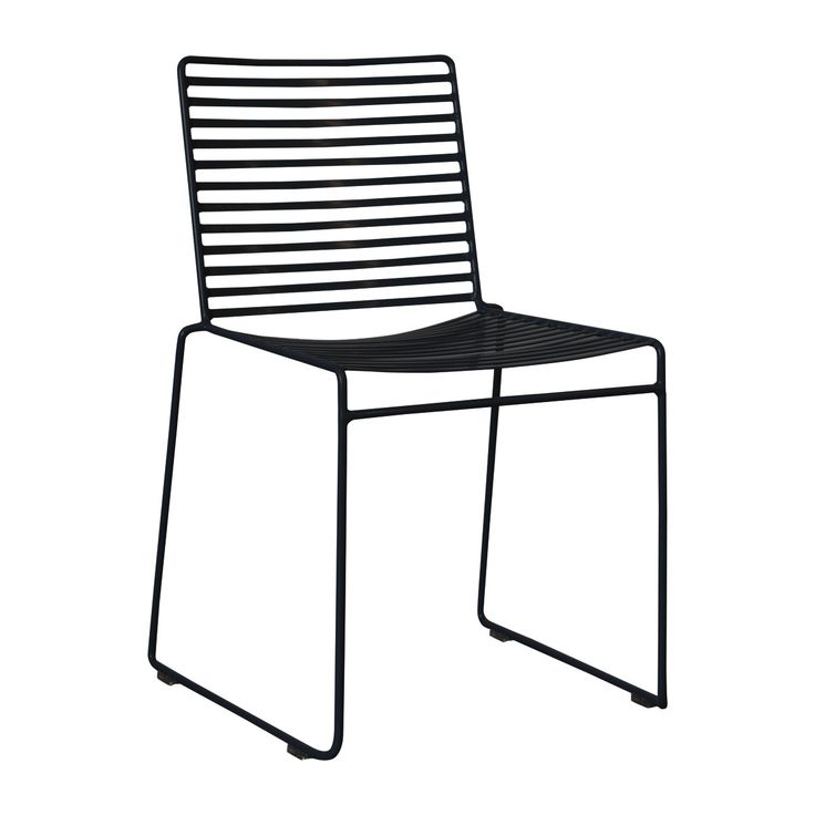 Studio Wire Dining Chair (Black) - Dining Chairs - Dining Room - FURNITURE