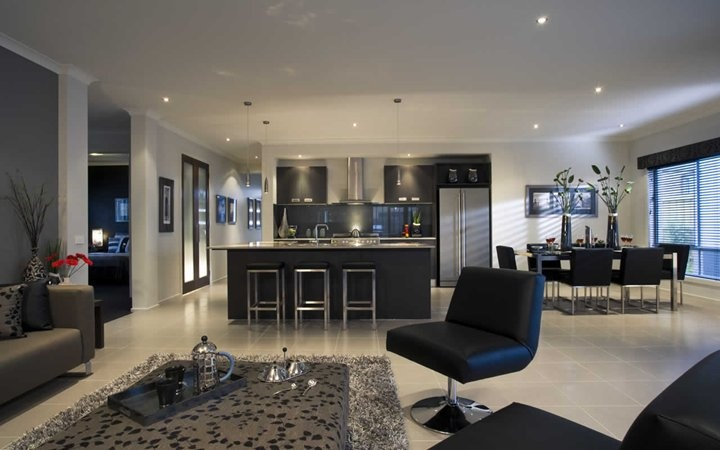 Talbot General Living 1, New Home Designs - Metricon
