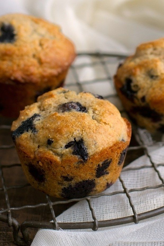 Bakery Style Blueberry Muffins - Ready in 30 minutes and the most tender muffins you've EVER had! #blueberrymuffins #muffins #bakerystylemuffins   Littlespicejar.com
