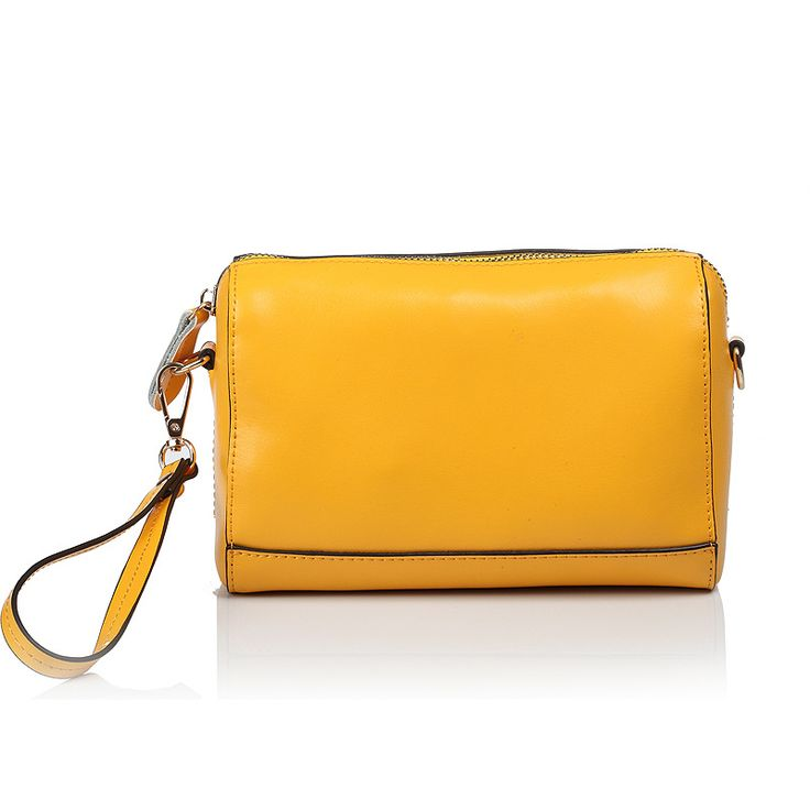 Long Casual Clutch bag dinner new fashionable and simple genuine leather Evening Bags