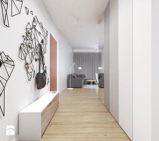 projekt 16 - Hol / przedpokój, styl skandynawski - zdjęcie od PASS architekci