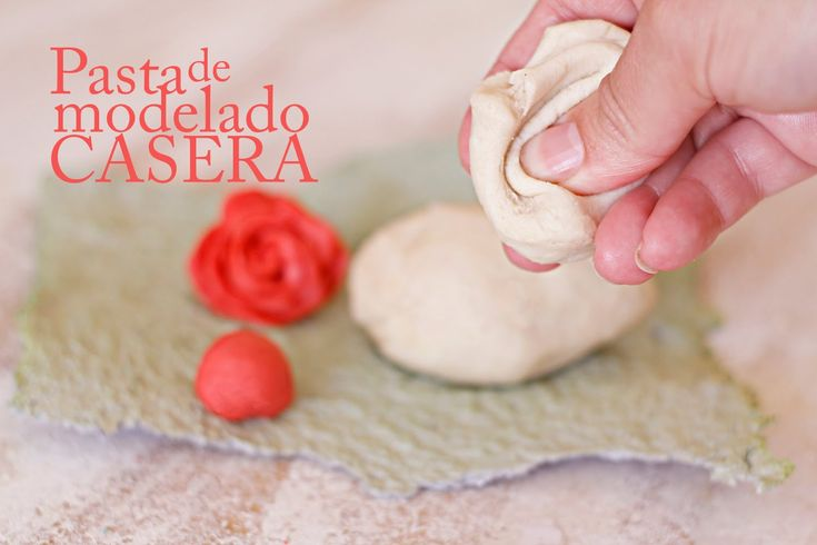 Pasta para modelar casera - Receta porcelana fria arcilla polimérica en ...