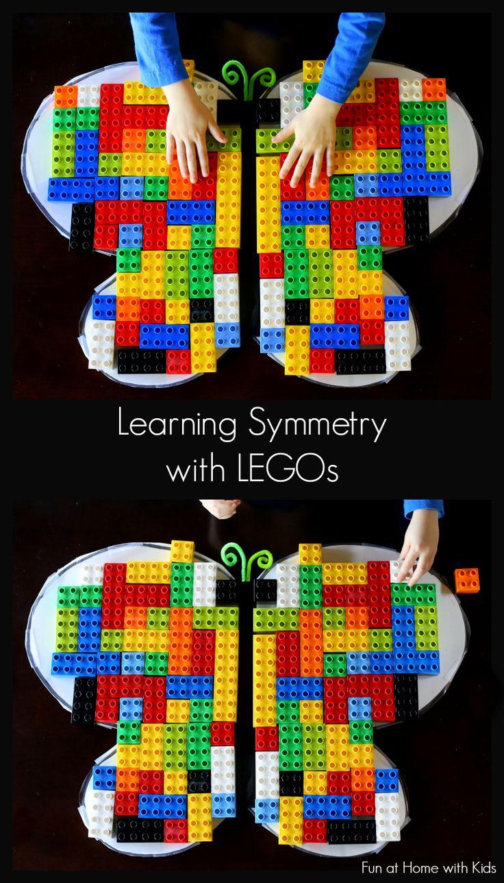 Symétrie avec des Legos